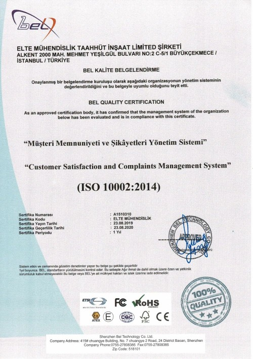 iso 10002 tr